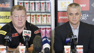 """You too: Anthony Griffin says if he's """"old school"""", then so is Phil Gould."""