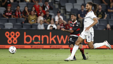 Kwame Yeboah wraps up the points for Western Sydney.