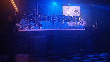 The tribute to Mr Riley at The Fortitude Music Hall.