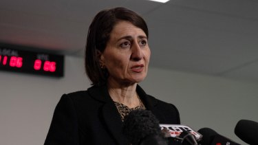 Premier Gladys Berejiklian says she was not the decision-maker in the controversial council grants scheme.