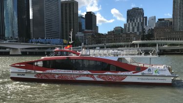 The new-look Quandamooka Country whale watching ferry which begins tours to Moreton Bay on July 6.