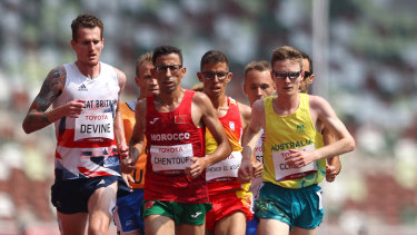 Australia's Jaryd Clifford won silver in Men's 5000m - T12 final earlier this morning.