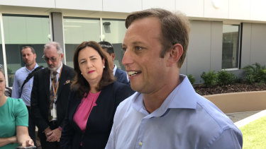 Queensland Health Minister Steven Miles has released hospital figures for the pandemic period.