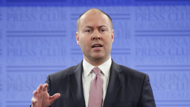 Treasurer Josh Frydenberg said the deferral would let banks focus on supporting their customers in the pandemic.
