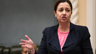 """A """"shocked"""" Premier Annastacia Palaszczuk has ordered aged care homes across Queensland to reopen."""