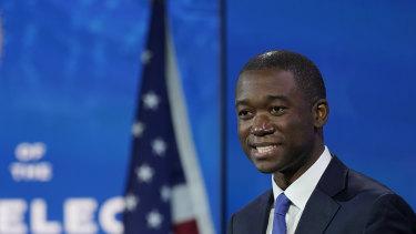 Wally Adeyemo who President-elect Joe Biden nominated to serve as deputy secretary of the Treasury.