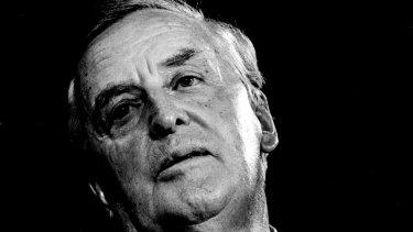 Sir Joh Bjelke-Petersen pictured on  February 22, 1987