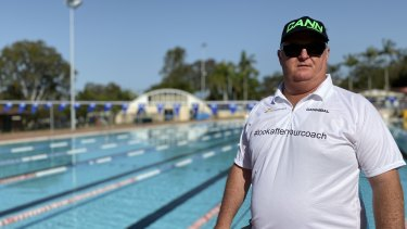 Swim coach Nick Pedrazzini knows the toll coaching can take on mental health.