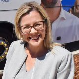 Acting Liberal Leader Libby Mettam.
