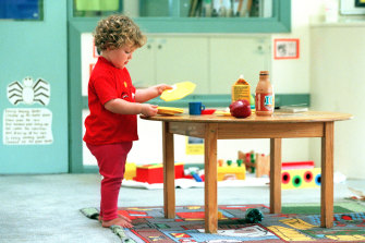 Spending on external childcare services – including pre-school, formal and informal childcare – doubled over the six-year period between Australian Bureau of Statistics surveys.