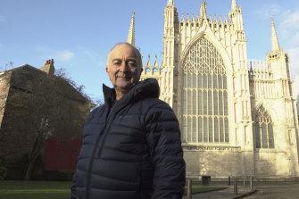 Baldrick meets Grand Designs: Britain's Cathedrals with Tony Robinson.