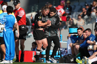 Top Dog Kieran Foran broke down in his return for New Zealand last November.
