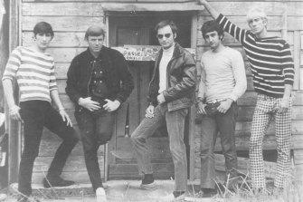 The Atlantics: Jim Siathitis, Johnny Rebb, Theo Penglis, Bosco Bosanac and Peter Hood.