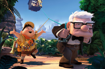 Asner was introduced to a new generation of fans with his lead voice role in Pixar's 2009 movie Up.