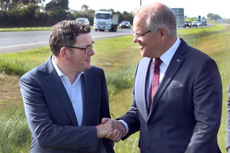 Daniel Andrews and Scott Morrison are going to pay more for the Monash upgrade.