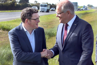 Dan Andrews and Scott Morrison have struck a strong rapport and partnership, but cracks are showing.