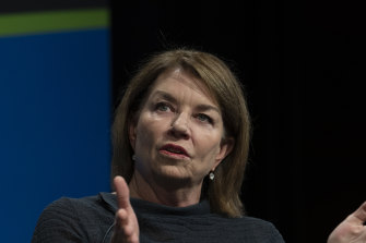 """""""The world's largest investment funds expect banks to assess and act on climate-related risks,"""" says Anna Bligh, chair of the Australian Banking Association."""