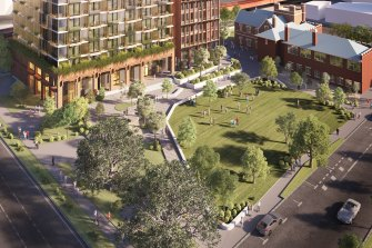 The redevelopment of the Boyd school on Southbank will include 40 affordable units.