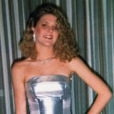 Jane Rimmer attending a ball at Hollywood High School.