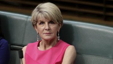 Labor's greatest fear? ... Julie Bishop.