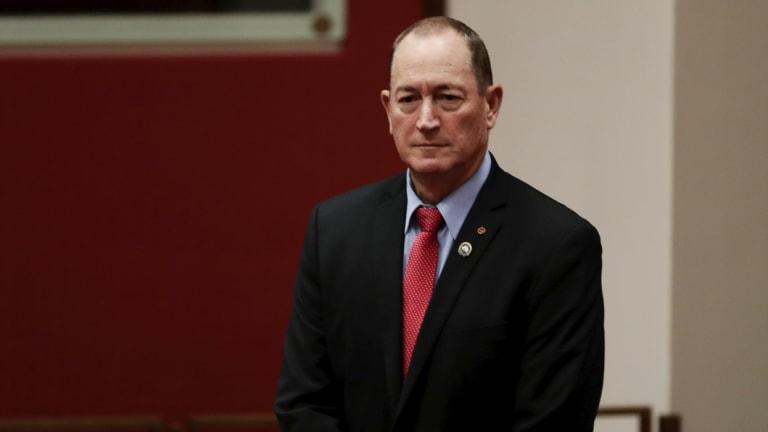 Just who does Senator Fraser Anning represent?