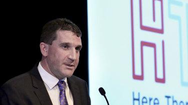 HT&E chief executive Ciaran Davis.