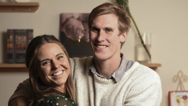 From you'll do to I do: Keesja Gofers and Scott Nicholson made a marriage pact in 2011 but fell in love.