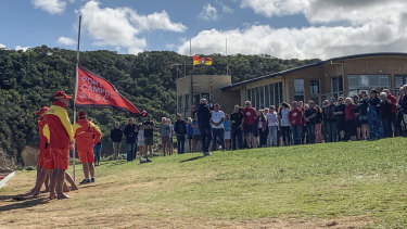Port Campbell SLSC pauses for a minute's silence