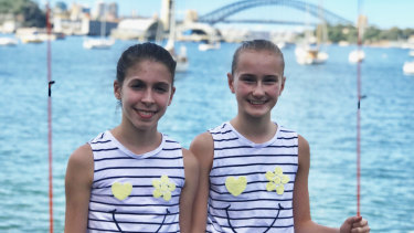 Tsambika Galanos and Ellie Cole have been nominated for a Eureka science award