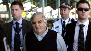 Former Vanuatu accountant Robert Agius after his arrest in April 2008.