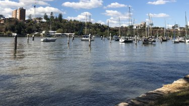 About 23 boat moorings at Gardens Point Boat Harbour will be demolished to make way for a river walk and river access hub.