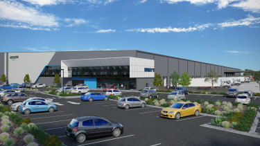 The 37,000sq m fulfilment centre will employ 300 people.