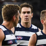 Virus hit Geelong camp ahead of preliminary final rout