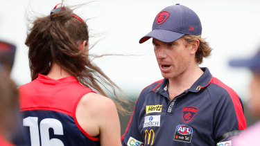Melbourne coach Mick Stinear says his side could go into a hub if needed.