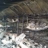 Bunk beds in a student dormitory at Scots College Glengarry campus were destroyed by fire in early January.