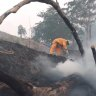 QLD blazes: Storms not enough to quench Sunday fires