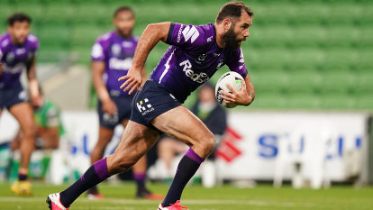 Raiders continue AAMI Park dominance with third-straight win over Storm