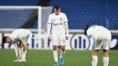 'We hadn't played for three weeks': Corica blames rain, coronavirus for Sydney FC failure