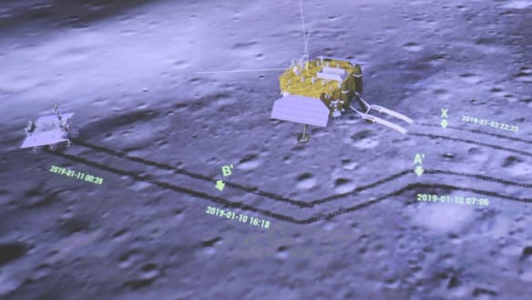 China offers NASA use of moon mission probe