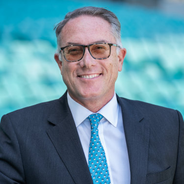 Patrick Delany is determined to change the Foxtel narrative