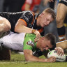 'I got a response': New-look Tigers step up for Maguire but still fall short against Raiders