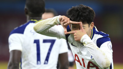Son strikes again as Spurs beat Burnley to move fifth