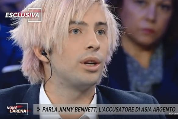 Jimmy Bennett gives first TV interview since Asia Argento sexual assault allegations