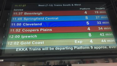 Catch a train. It's a far easier than any other way of getting to the Ekka.