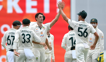Pat Cummins and Australia will be desperate for an early wicket on day three.