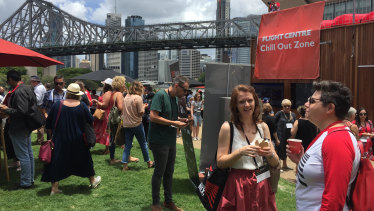More than 600 people attended the  TEDxBrisbane talks in Brisbane at Howard Smith Wharves.