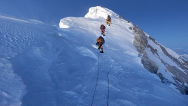 """Everest has been called a """"faecal time bomb""""."""