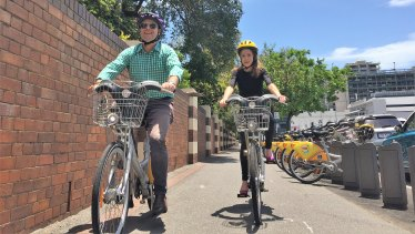 As public and active transport chair Adrian Schrinner has championed the CityCycle program.