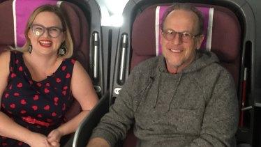 True Ventures and about.me venture capitalist Tony Conrad with Sarah Moran.