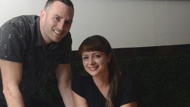 Soap Bar Launderette founders Ben Shaw and Constance Bernard.
